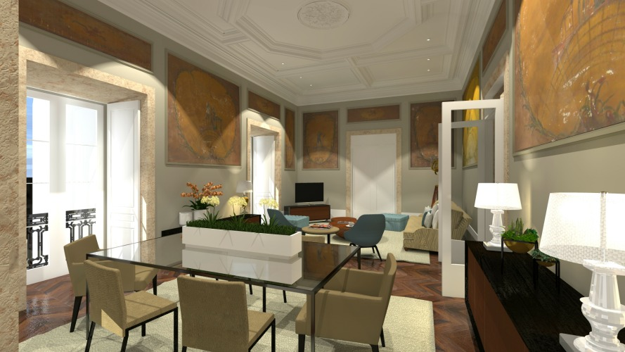 Baronesa appartementen vakantiehuis Portugal Lissabon