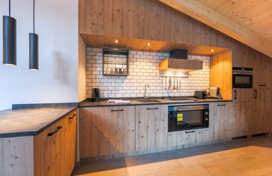 Impressie van keuken voor Stockinggut Avenida Leogang Oostenrijk