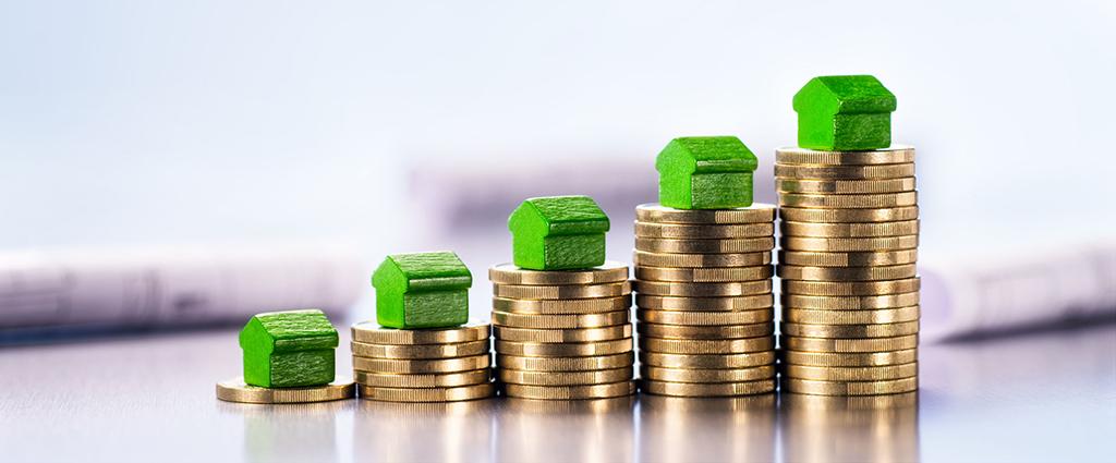 Stijging prijzen huizen