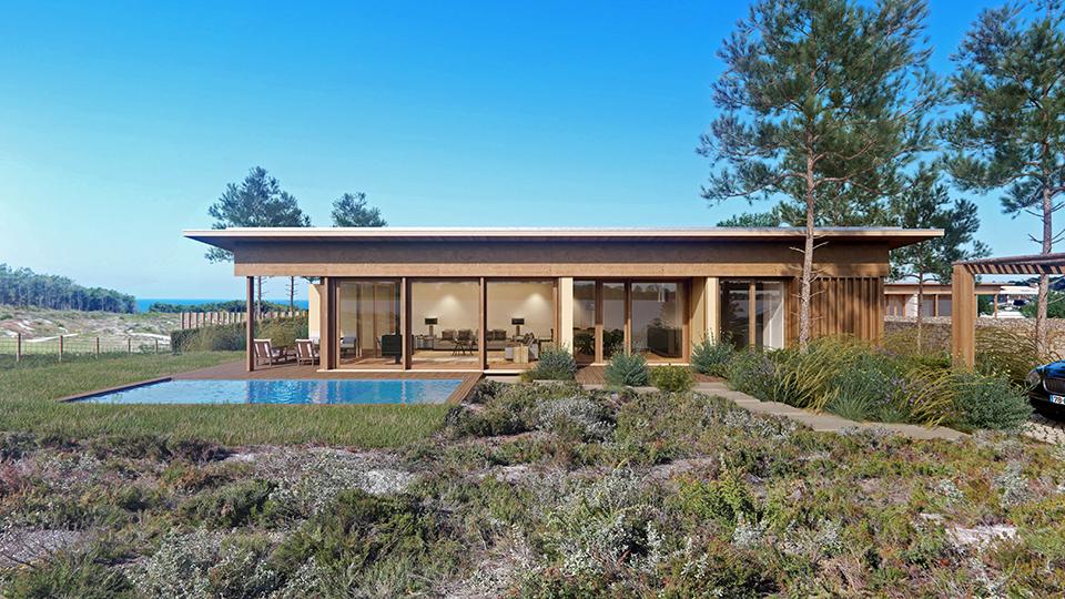 West Cliffs twin villa in de silvercoast