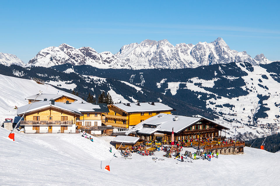Saalbach Hinterglemm skipiste Oostenrijk Elements Zell am see