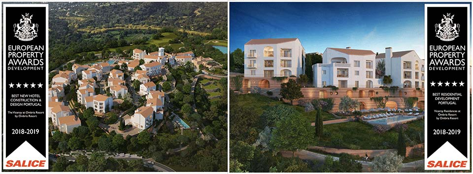 Ombria Resort European Property Awards