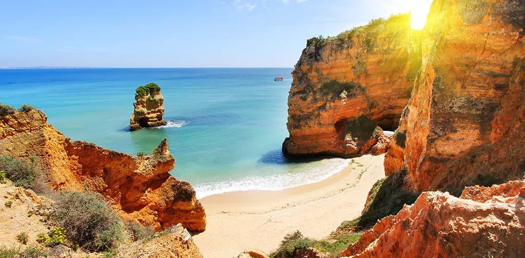 Portugal Algarve rots formatie