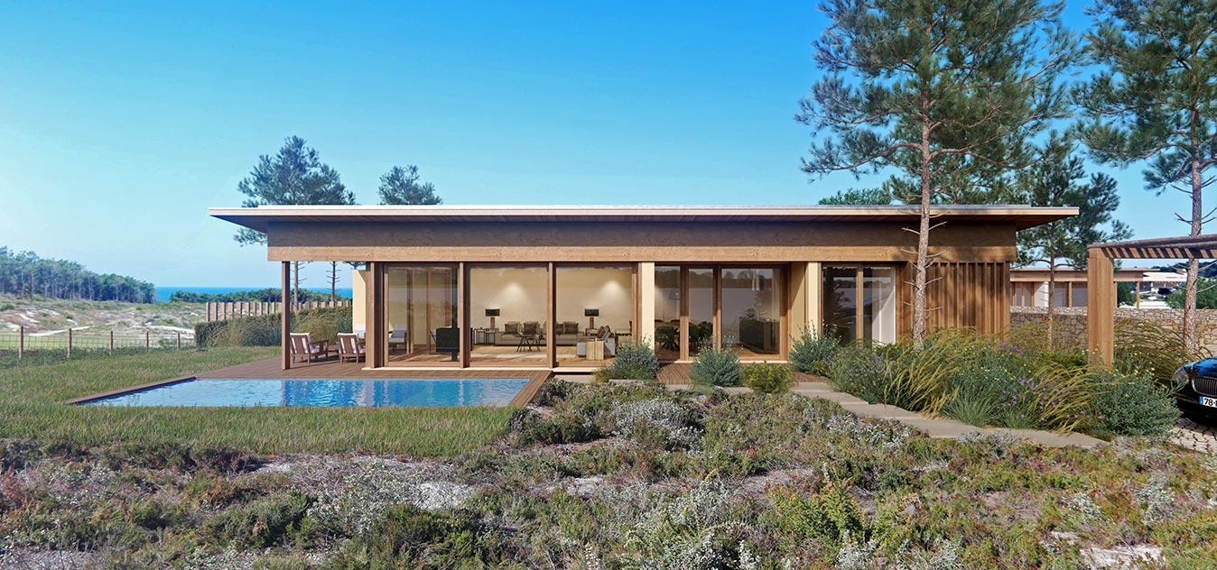 Kopslider West Cliffs Portugal Twin Villa