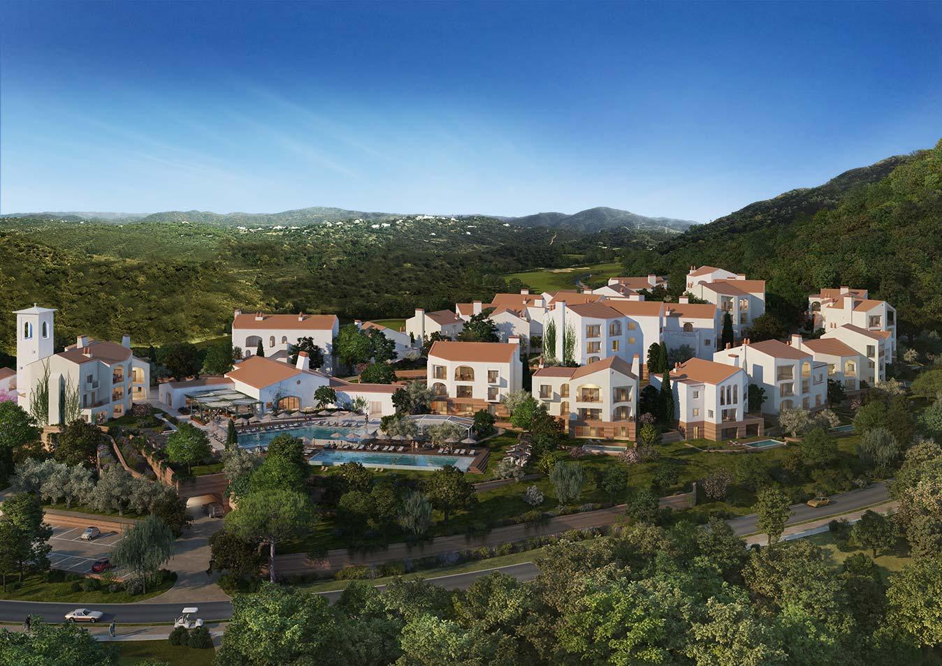 Ombria Resort uitzicht kopslider