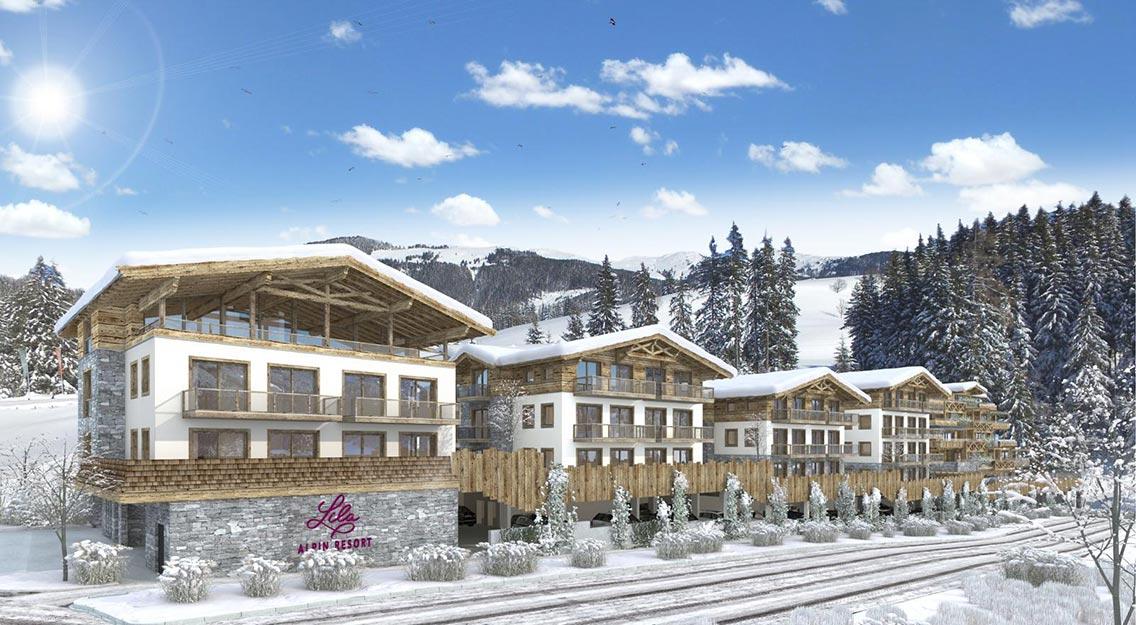 Lila Alpin Resort Kitzbuheler Alpen kopfoto