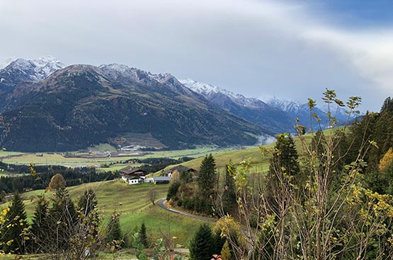 Lila Alpin Resort Kitzbuheler alpen uitzichtfoto