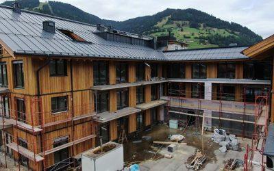 Voortgang bouw Elements Resort Oostenrijk