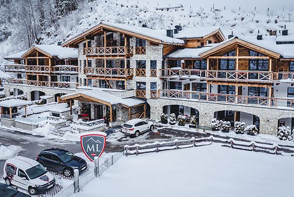 Avenida Mountain Lodges Saalbach receptie